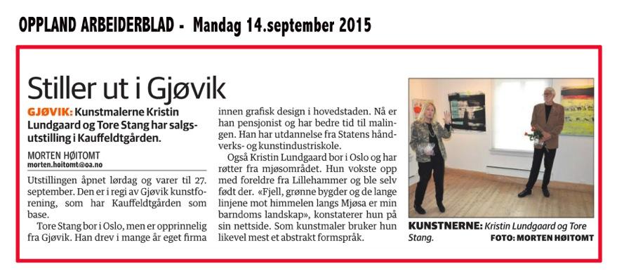 Kristin & Tore 14.sept 2015