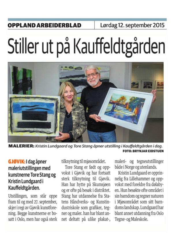 Kristin & Tore. OA 12.9.15